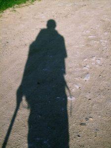 Neil Thomas sur le Chemin de Compostelle
