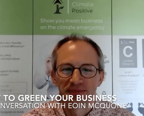 how to green your business