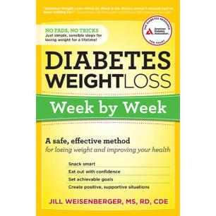 Diabetes Wt Loss week by week - jill pic of book