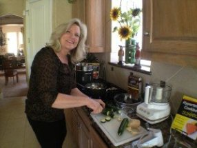 In the kitchen with Cindy Kleckner