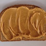 2 level tablespoons of peanut butter