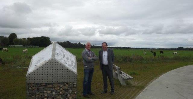 Bezoek burgemeester Marcel Thijsen