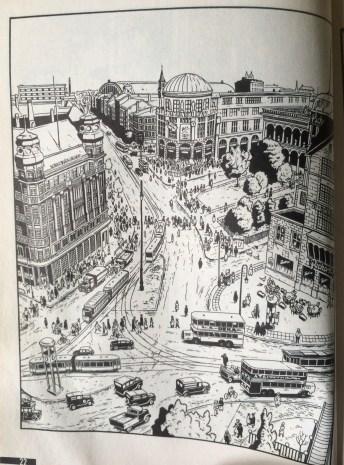 Potsdamer Platz 1920-luvun loistossaan