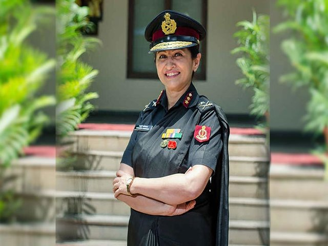 Major Gen Madhuri Kanitkar