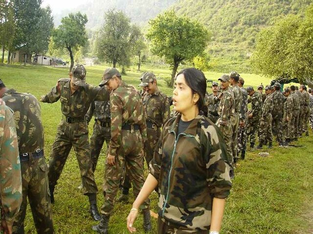 Women commando trainer