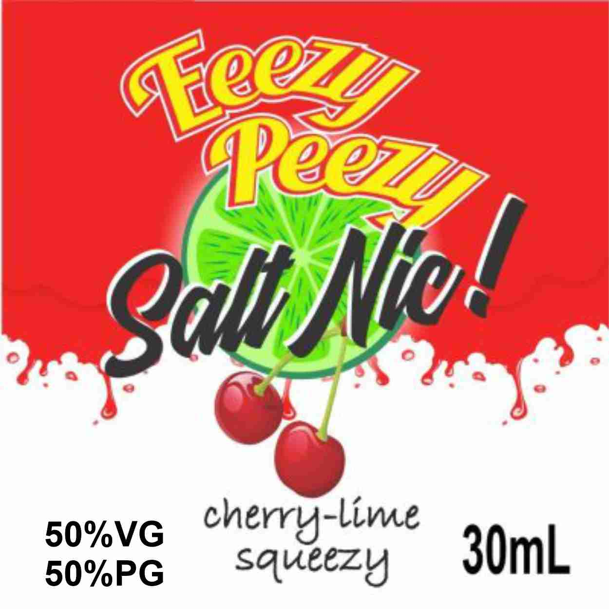 Cherry Lime Squeezy Salt Nic