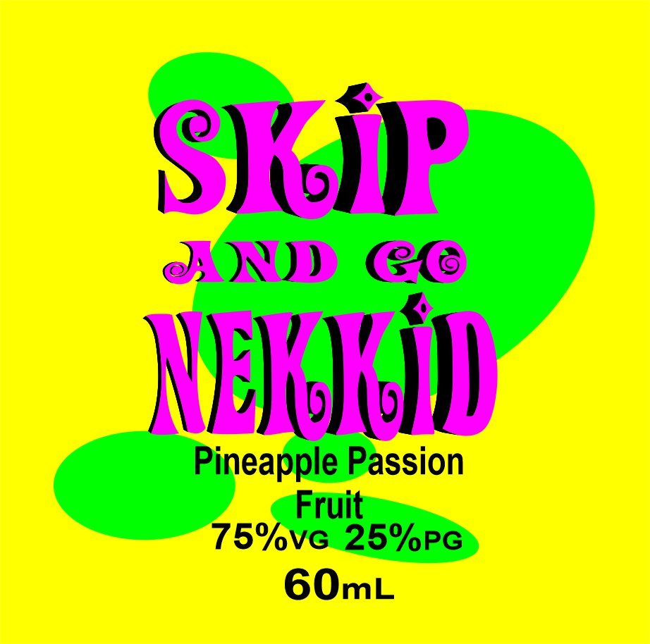Pineapple Passion Fruit 60mL Skip and go Nekkid