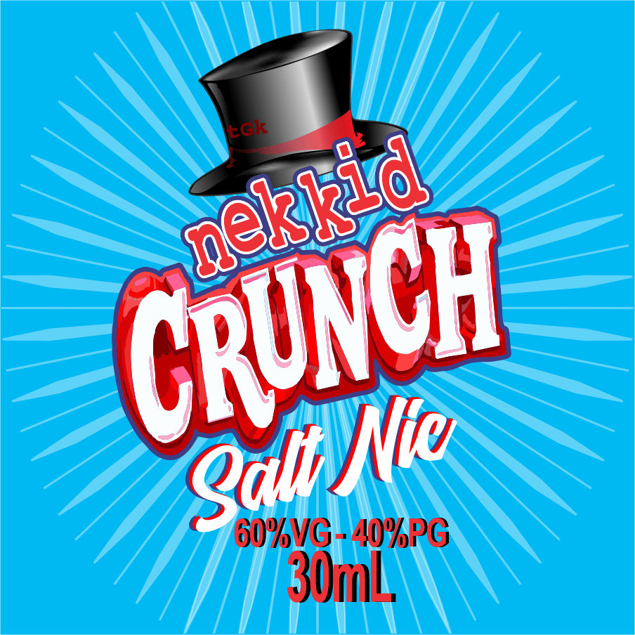 Nekkid Crunch - Salt Nic