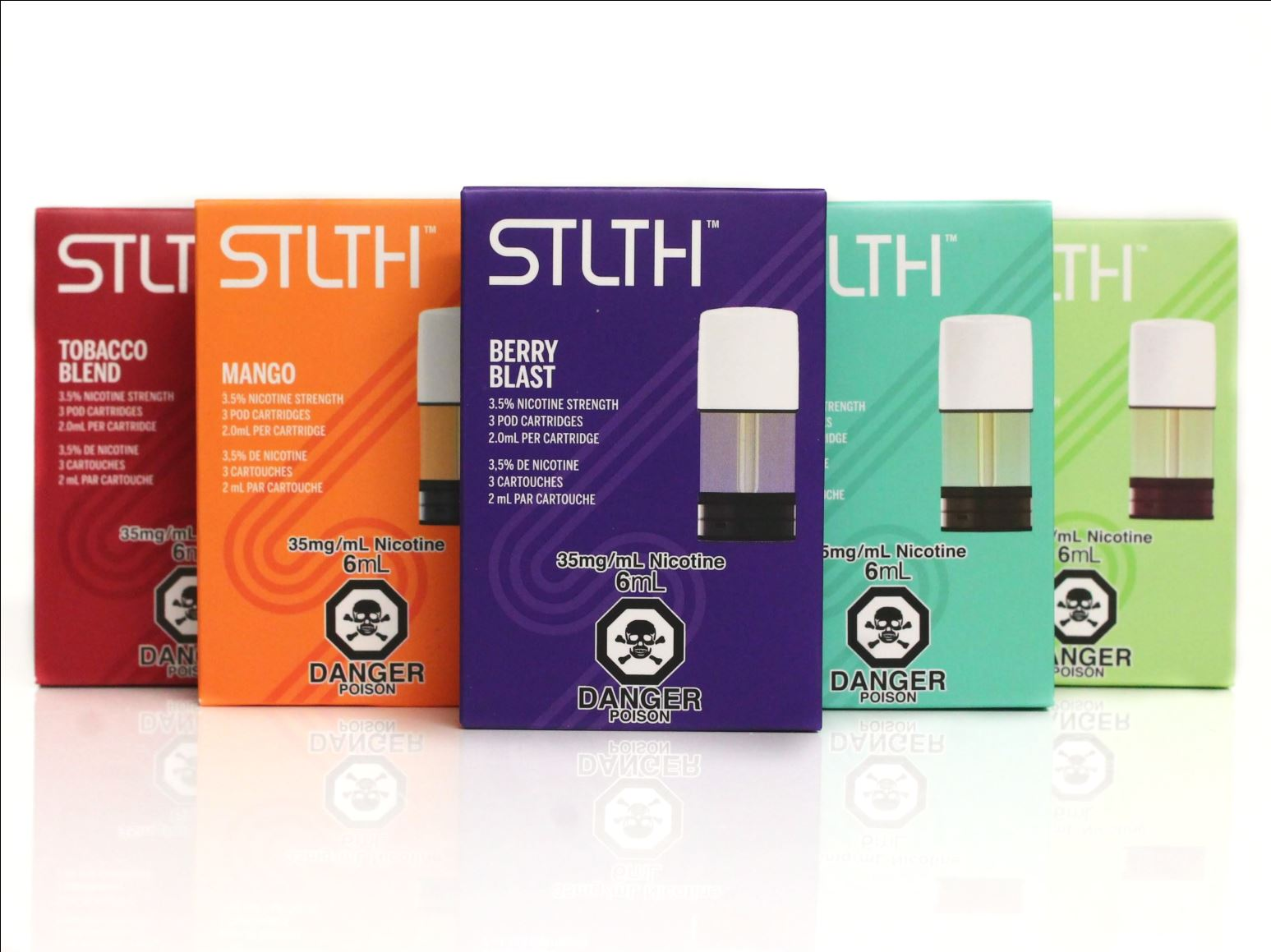 STLTH Pod Packs