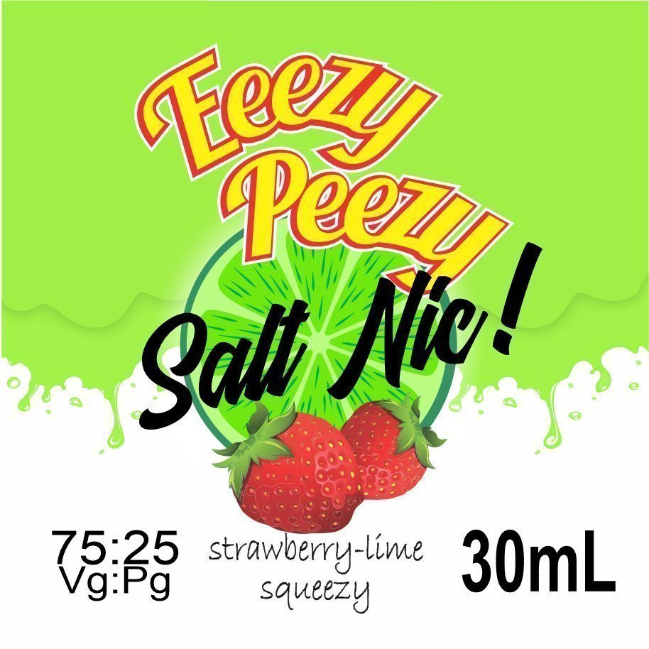strawberry-lime-squeezy salt nic