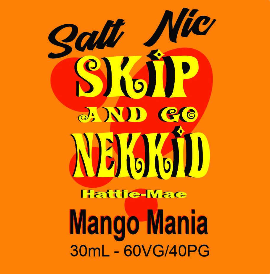 Mango Mania Salt Nic - skip and go nekkid