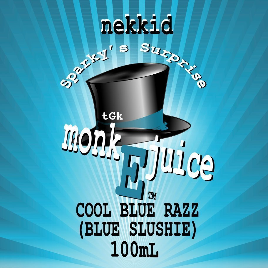 Cool Blue Razz - Blue Slushie 100mL E-Liquid