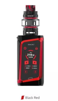 smok morph 219 ts kit red black