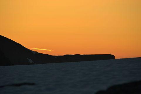 Solnedgond e superawesome. Foto: Stine Lystad