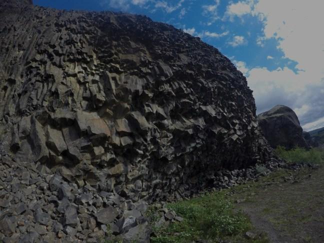 Hljóðaklettar - fantastisk stein!!