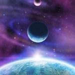 「宇宙のオーロラ」アートの感想をいただきました♪