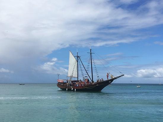 カリブの海賊船
