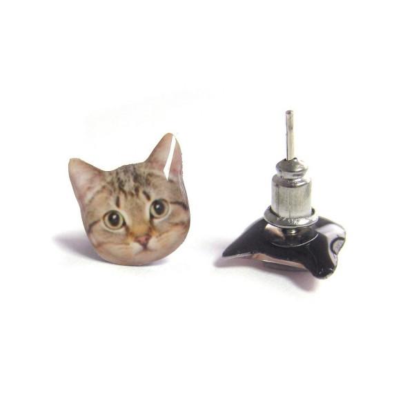 130908catpiercedearring00 600x600 - 聞かれる前に猫好きだと表明できる、キュートな猫フェイスピアス