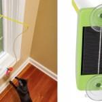 太陽電池で動き続ける、猫おもちゃ「The Solar Powered Cat Tantalizer」(動画)
