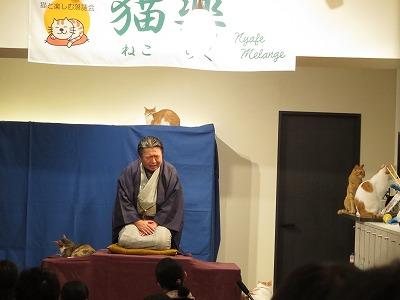 131117nekoraku02 - 猫カフェで開催する落語会「猫楽」
