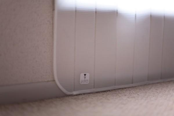 140313catpanel 600x399 - 窓の冷気をシャットアウトするパネルは、猫にも快適
