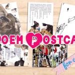 地域猫保護活動へ売上を寄付する、猫ポエム絵はがきプロジェクト