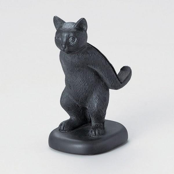 140612catstamd01 600x600 - スマホを背負う猫スタンド、存在感を漂わせる