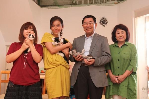 140907nekoichinekoza00 600x399 - 「ネコ市ネコ座」トークショー、杉本彩さんが猫保護活動への理解を呼びかける