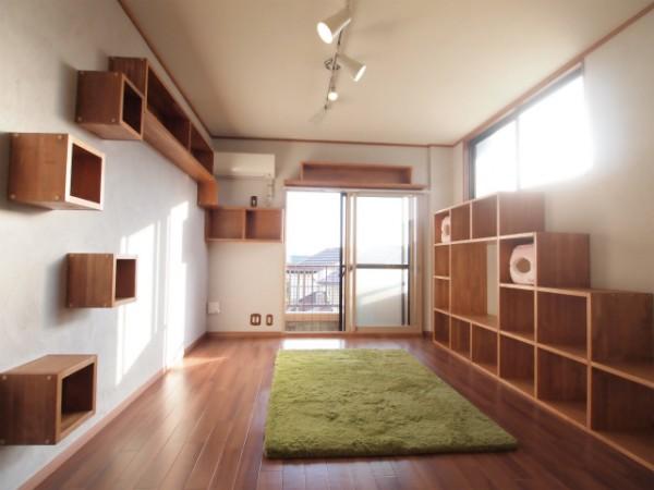 141205 fujigaokacathouse image2 600x450 - 猫用カスタマイズ賃貸物件、内覧会を12月7日まで開催@藤が丘