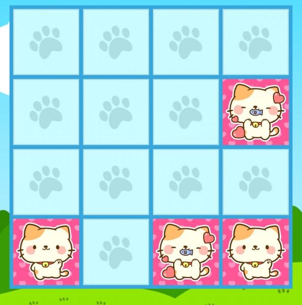 150127animalparade01 595x600 - 猫アイコンのパズルゲームアプリ、シンプルルールで時間を奪う