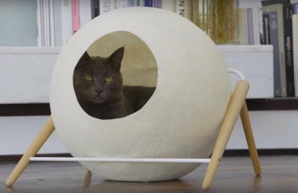 151024LaBALL 600x390 - フランス生まれの猫ベッド、おしゃれなBALLとCUBEとBEDと