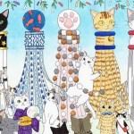 東北の空を彩る猫型飾り、仙台七夕まつりに猫要素が追加される