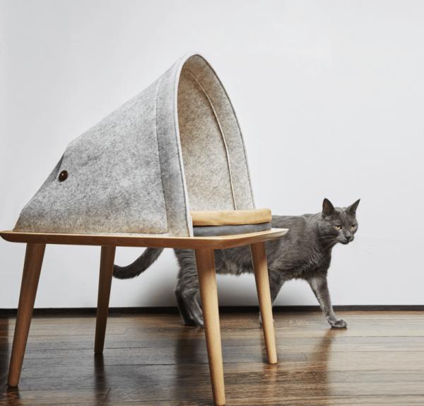 161211meyouparis04 600x574 - フランス発の洗練デザイン猫ベッド、日本でも2017年1月中旬販売開始に