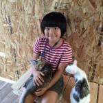 """「旅館で猫保護」第2ステージ、猫庭""""拡張""""プロジェクト"""