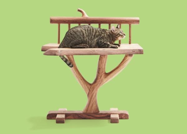 180924nekokagu07 1920 600x430 - 猫用サイズの職人MADE、あのネコ家具がふるさと納税の返礼品に