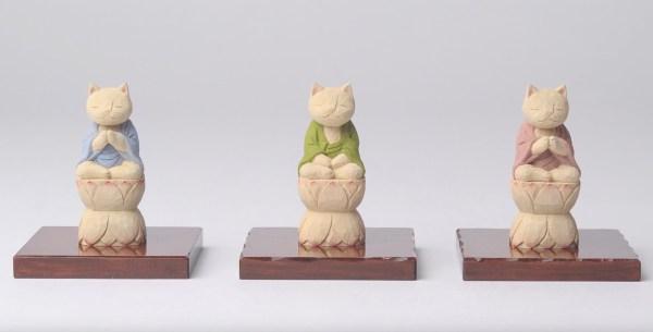 190826cat 1920 600x305 - 手のひらにすっくと屹立猫の仏像、猫が仏か仏が猫か