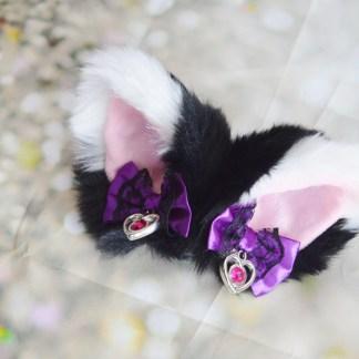 Neko lolita cosplay costume ears