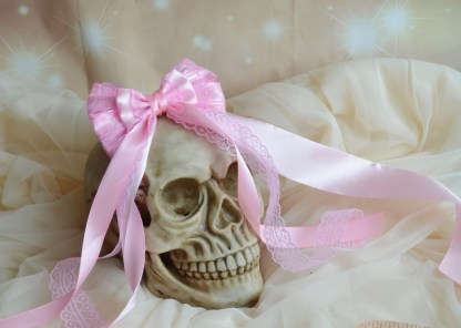 Hair bow - pastel pink