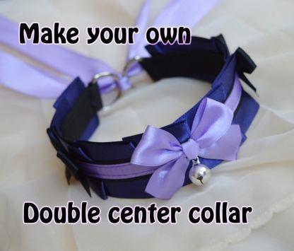 Design your Own! - Kitten play collar - Double Center Collar