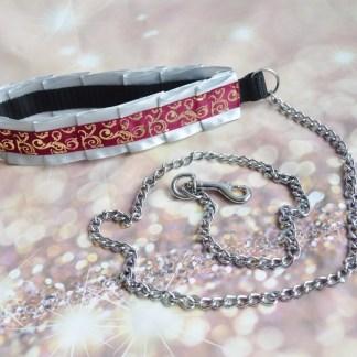 White red leash