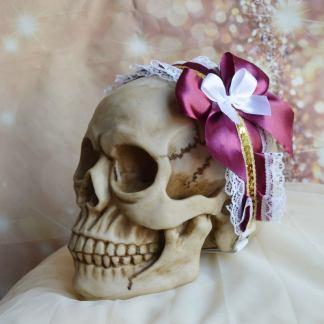 Goth Lolita headband - Carmili