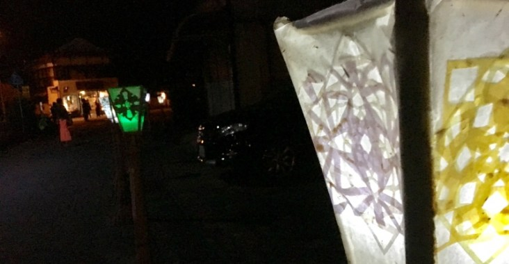 徳地の竹灯籠