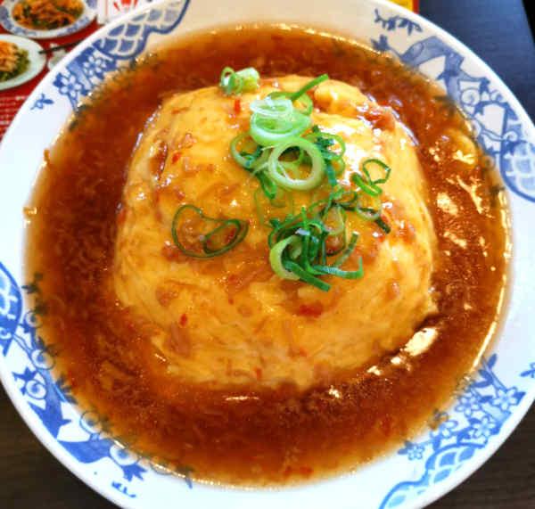 バーミヤンの天津飯(ごはん大盛)