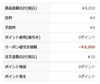 【夢展望の株主優待利用】支払い額10円で夢展望通販サイトから服を注文