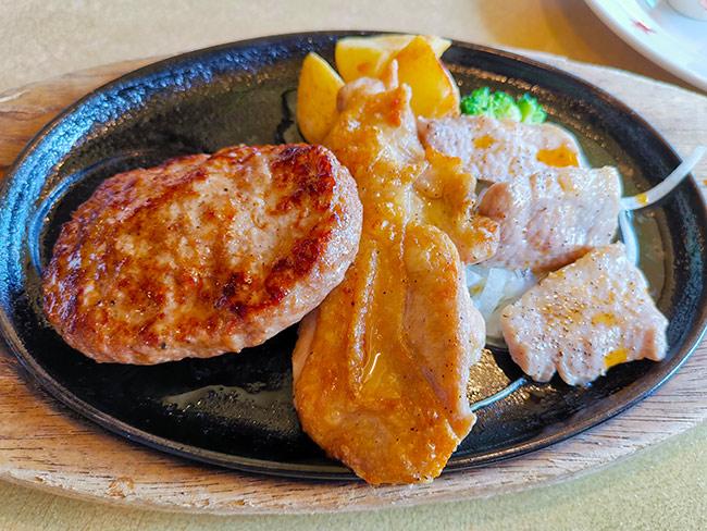 ステーキのどん「日替わりメニュー」739円