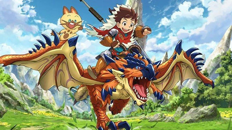 monster hunter anime