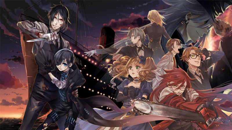 black butler: book of atlantic movie