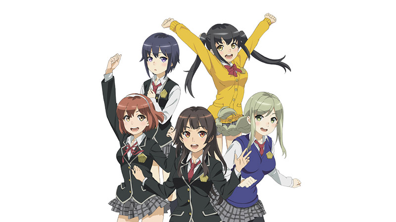 Schoolgirl Strikers anime