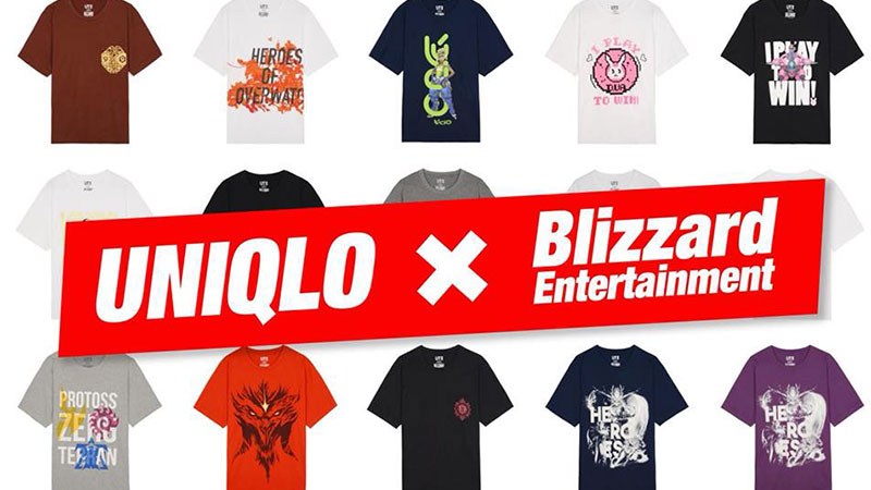 Gandeng Blizzard Entertainment, Uniqlo Akan Meluncurkan Kaos Bertema Uniqlo x Blizzard!