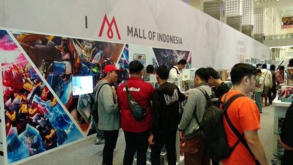 gunpla expo 2018 indonesia